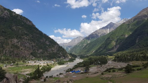 View at the End of the Trail in Sangla