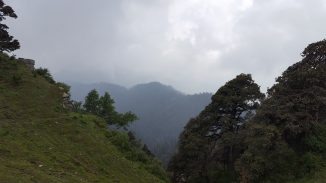 View from Hatu Peak