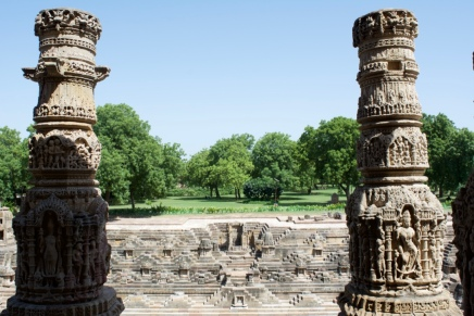 View of Step Well from Temple