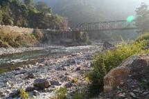 Yamuna Bridge on the way from Kalsi to Kempty Falls