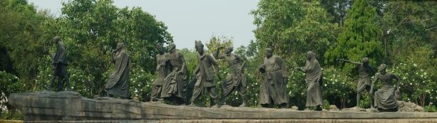 Dandi March Depiction