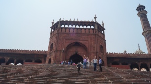 Entrance to Jama Masjid