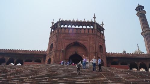 Entrance to Jama Masjid