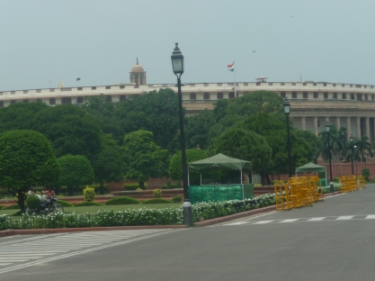 Indian Parliament building