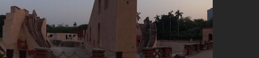 Inside Jantar Mantar