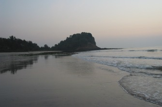 Kashid Beach by the resort
