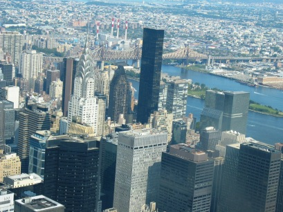 Manhattan view from Empire State