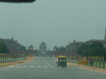 Road leading to Rashtrapathi Building
