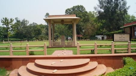 The place where Gandhi ji was shot