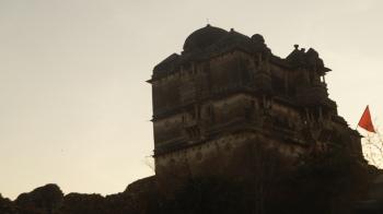 a palace inside chittorgarh fort