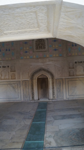 air conditioning system at amber fort
