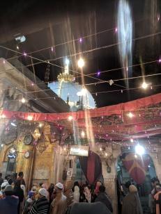 ajmer dargah at night