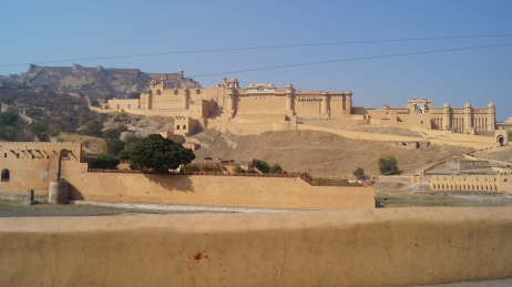 amber fort from the outside