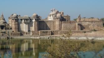chittorgarh fort internal view