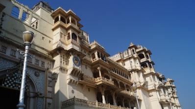 city palace exterior near entrance