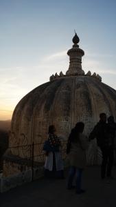 dome displaying hindu influence at kumbhalgarh fort