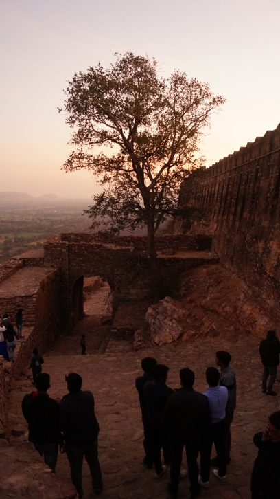 eastern gate at chittorgarh fort