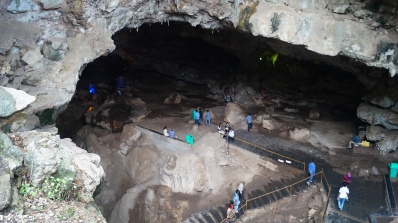 entrance to borra caves