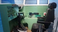 exhibit inside the tu 142 museum