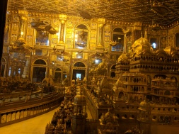 flying vehicles in the golden temple