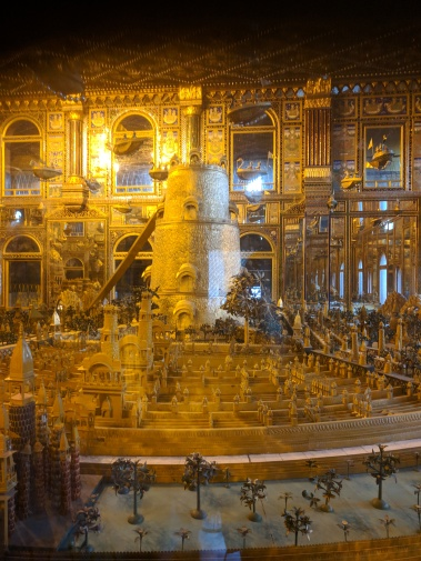 inside the golden temple in ajmer