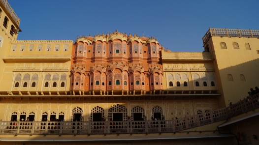 interior courtyard in jaipur