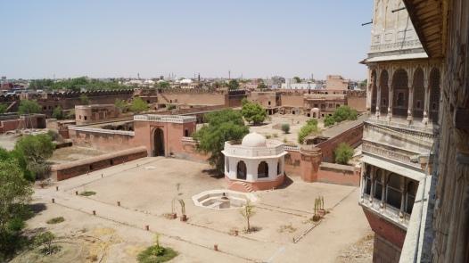 junagarh fort view from first floor