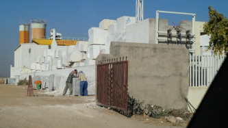 large marble blocks - before they become tiles
