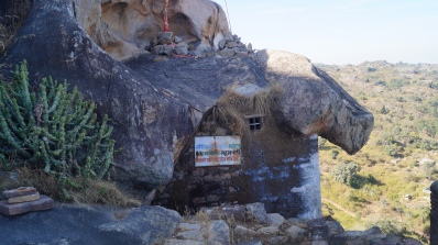 mahakali hilltop temple in achalgarh