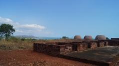 monk living quarters at thotlakonda