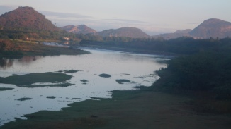 near anakapalli train view