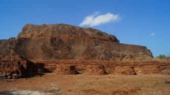 open air stupa at bojjanakonda