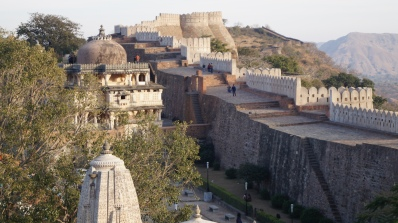 outer wall of kumbhalgarh fort