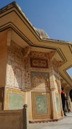 painted walls amber fort jaipur