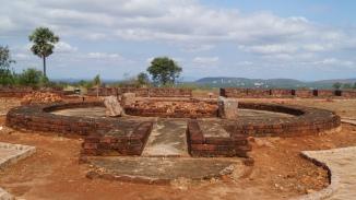 prayer hall at thotlakonda