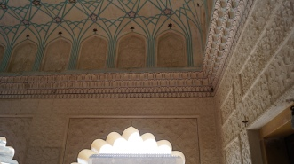 pretty walls and ceilings amber fort jaipur
