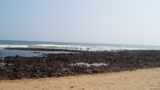 rocky end of rushikonda beach