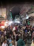 scene in front of ajmer dargah at 10pm