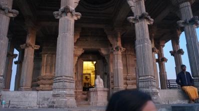 shiva temple inside kumbhalgarh fort
