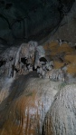 stalactite formations in borra caves