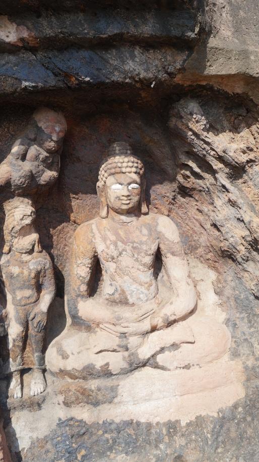statue 3 at bojjanakonda