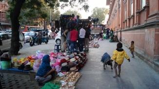 street hawkers in jaipur