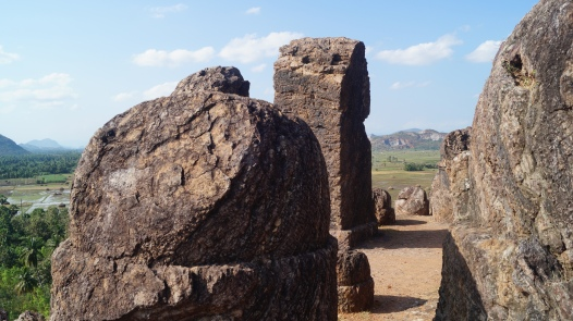 stupas and other relics at bojjanakonda