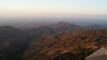 sunset at kumbhalgarh fort