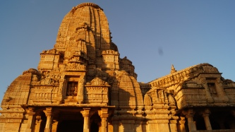 temple detail at chittorgarh