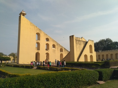 the jantar mantar at jaipur