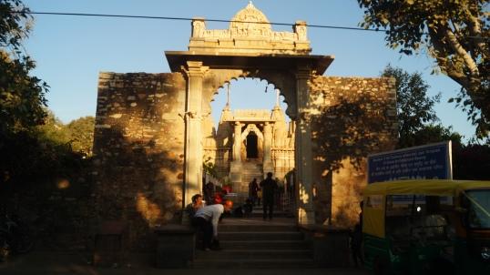 the krishna and mirabai temple complex