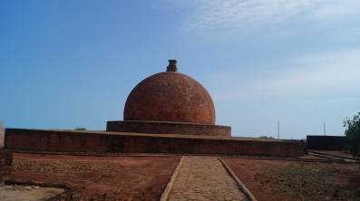 the main stupa at thotlakonda