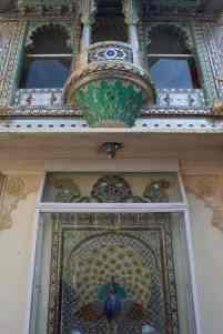 udaipur city palace mor chowk