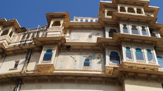 udaipur palace windows
